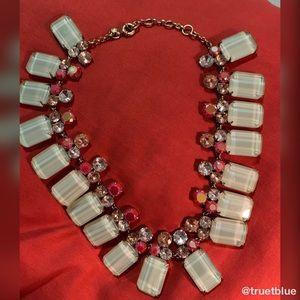 J. Crew Jewelry - 🆕 J. Crew Seafoam Green Statement Necklace